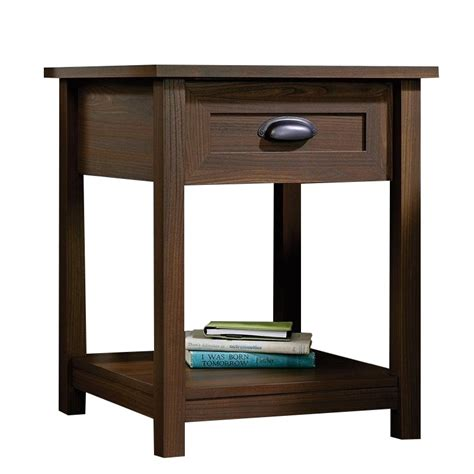 L For Nightstand Nightstand In Rum Walnut 415998