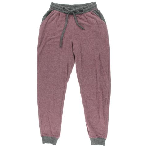 celebrity lounge pants celebrity pink 0859 womens colorblock casual lounge jogger