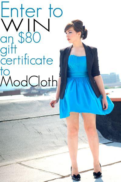 Modcloth Giveaway - modcloth giveaway keiko lynn