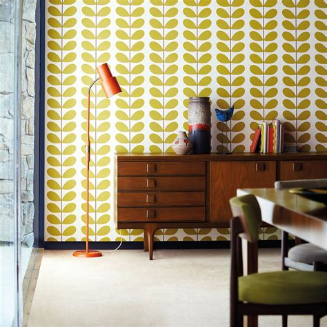 orla kiely wallpaper classic stem style library the premier destination for stylish and