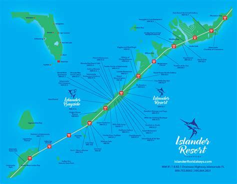 islamorada map islander resort florida property maps