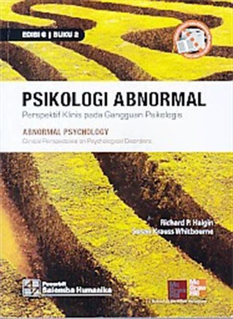 Psikologi Abnormal Jl 2 toko buku rahma psikologi abnormal edisi 6 buku 2