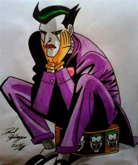 imagenes del joker batman dibujo fan art the joker portada de comic batman y robin