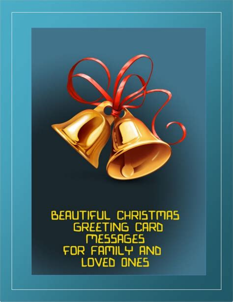 beautiful christmas greeting card messages  family  loved