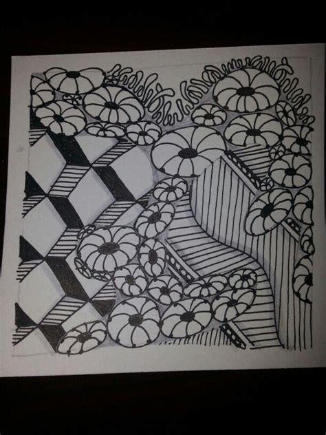 zentangle pattern meer honeycomb quabog festune meer 7 8 13 zentangle art by