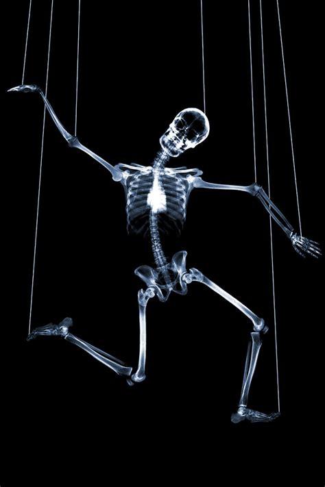 funhumor  ray skeleton puppet   string ipad