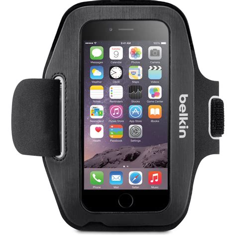 belkin sport fit armband  iphone  fwbtc bh photo