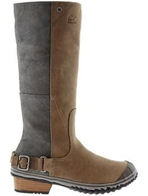 Ciput Two Tone Combine slimboot by sorel waterproof two tone leather combines with arch support and a rubber outsole
