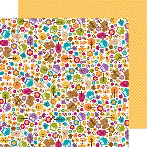 doodlebug friendly forest doodlebug design friendly forest collection 12 x 12