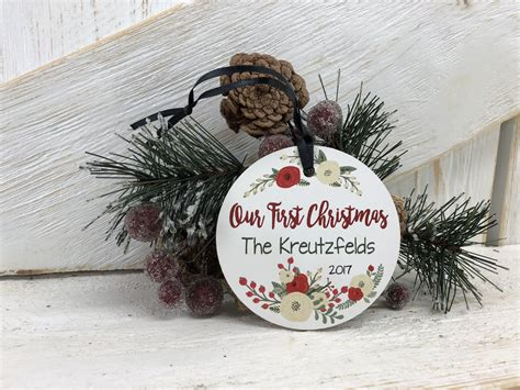 our first christmas ornament hentges crafts llc