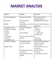 competitive benchmarking template sle industry analysis templates 6 free documents in