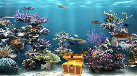 free download wallpaper 3d bergerak for pc clear aquarium animated wallpaper desktopanimated com