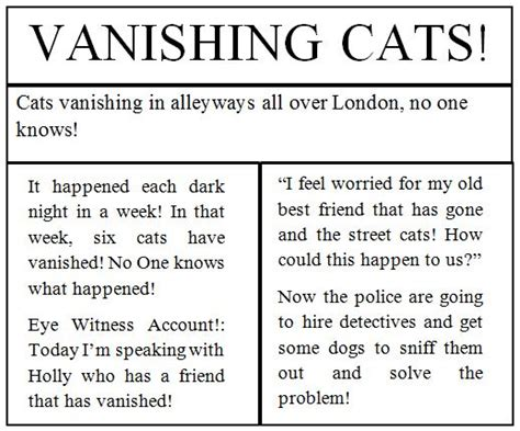 Writing Newspaper Reports Year 6 by Writing Newspaper Articles Ks2 Reportz725 Web Fc2