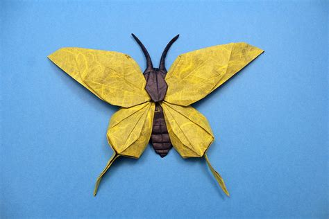 Folded Paper Butterflies - 24 incredibly realistic looking origami insects