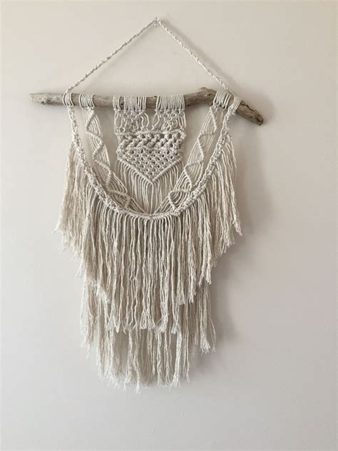 Macrame Crafts - macrame wall hanging 70s style crafts summer