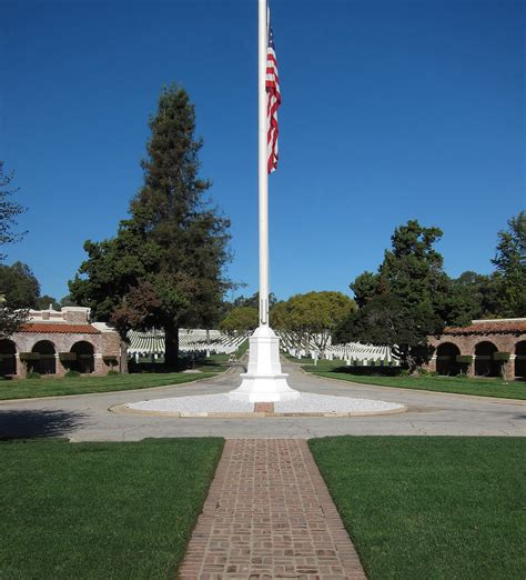 s day cemetery los angeles los angeles national cemetery columbarium flagpole and