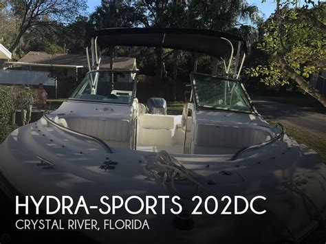 crystal river boat sales for sale used 2002 hydra sports 202dc in crystal river