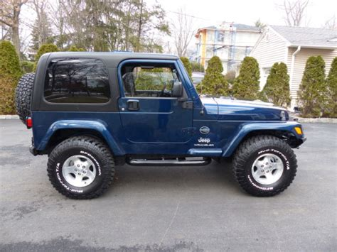 Jeep Wrangler Rocky Mountain Edition 2005 Jeep Wrangler Rocky Mountain Edition 4wd