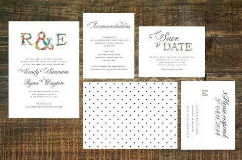 monogram wedding invitation set monogram wedding invitation suite set of 25 2493170 weddbook