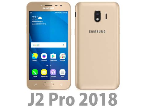 Samsung Galaxy J2 Pro 2018 Gold by Samsung Galaxy J2 Pro 2018 Gold Electronics 3d Cgtrader