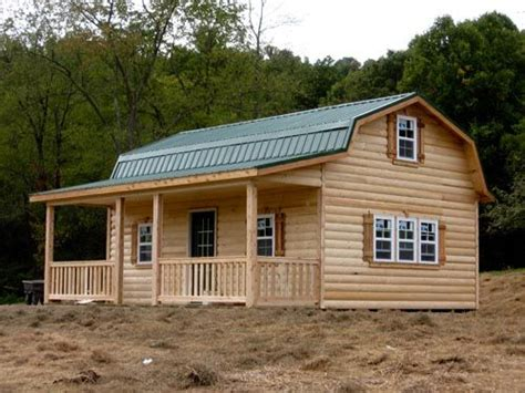 Amish Built Cabins For Sale by Amish Storage Barn Gambrel Cabins Built By Weaver Barns