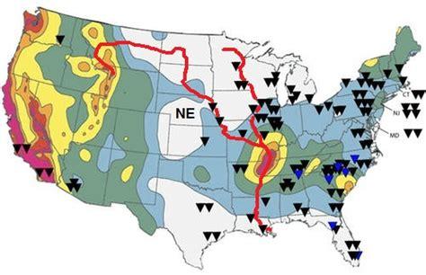 nuclear power plants in california map the 3 11 2011 tohoku fukushima quake tsunami nuclear