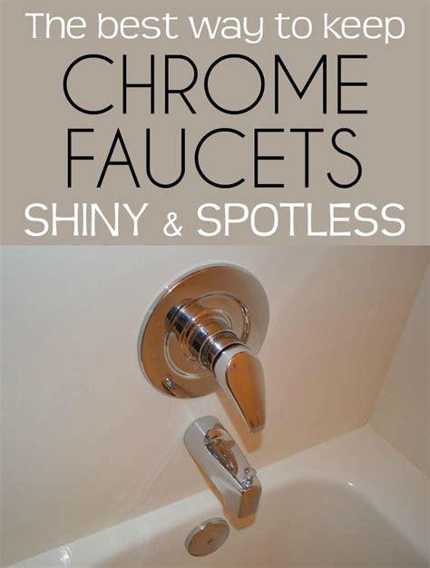 best way to clean chrome bathroom fixtures tyres2c