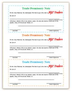 promissory note template promissory note template images