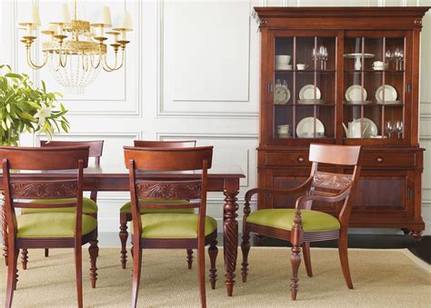 dining room tables ethan allen livingston dining table ethan allen