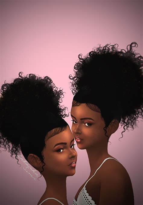 african cc hair for sism4 latasha sims jaysseehsims 4 pinterest sims