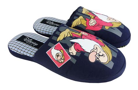 mens comfy slippers mens disney grumpy novelty mule comfy flat mules slippers
