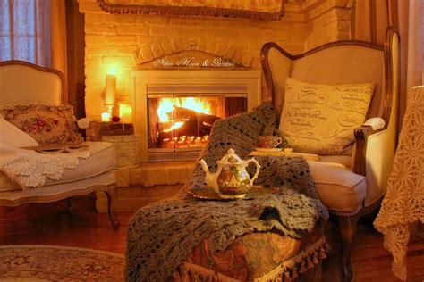 44 warm and cozy autumn interior designs homexx aiken house gardens romantic fireside tea cozy cottages