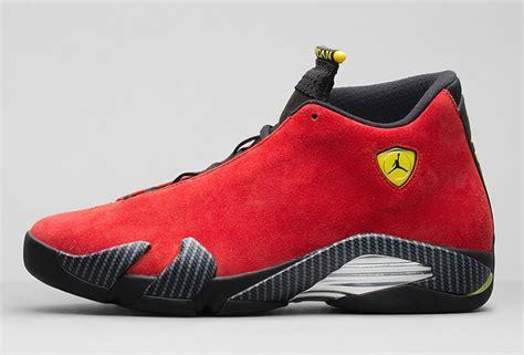 Air Jordan 14 Ferrari Sneakernews Com