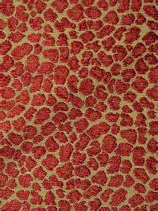 Decorator Drapery Fabric Spots Ruby Animal Print Fabric Discount Online Store