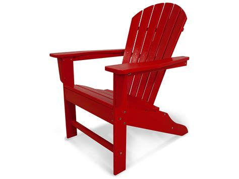 Recycled Plastic Adirondack Chair by Polywood 174 South Recycled Plastic Adirondack Chair