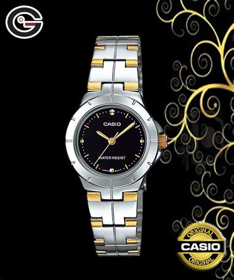Jam Tangan Wanita Casio Ltp 1242 casio jam tangan analog ltp 1242sg 1cdf hitam
