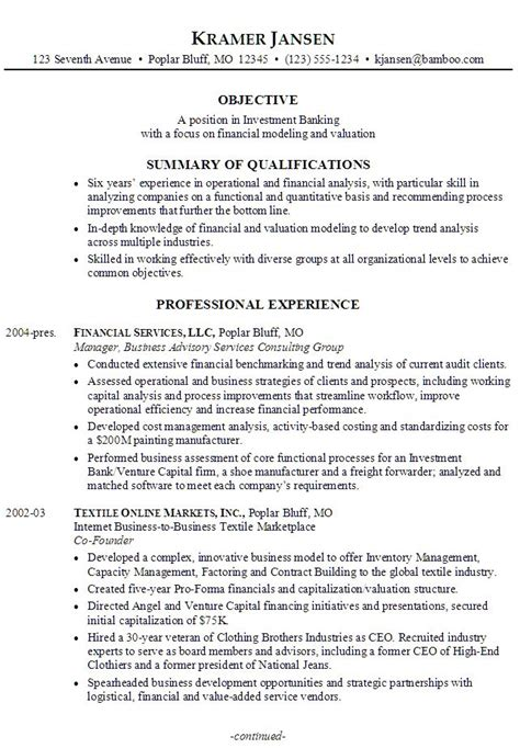 resume for retail banking operations 28 images pin by