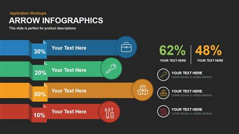 keynote templates for powerpoint arrow infographics powerpoint keynote template slidebazaar