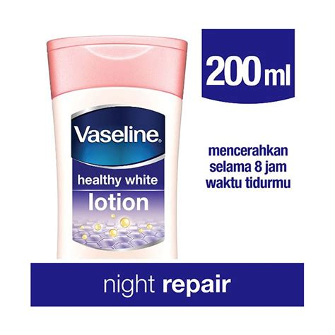 Vaseline Healty White 200ml jual vaseline lotion healthy white repair 200ml