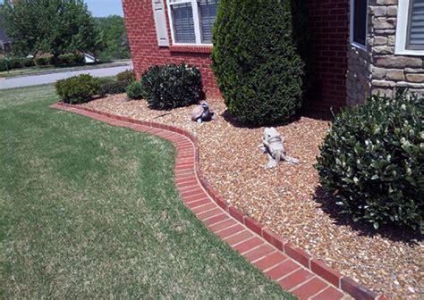 flower bed edging stone 64 flower bed edging ideas