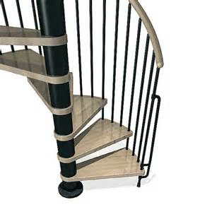Interior Stair Rail Shop Arke Phoenix 63 In X 10 Ft Black Spiral Staircase Kit