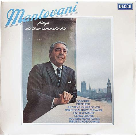 mantovani hits all time hits by mantovani lp with rarissime