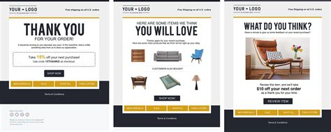 thank you for your purchase email template 21 new template designs to inspire your email marketing