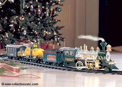 christmas trains for under the tree learn set tree binims