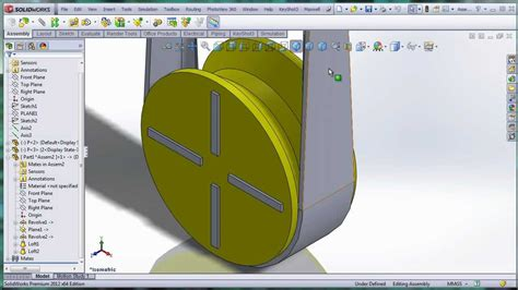 solidworks cross section solidworks belt on cross section pulley youtube