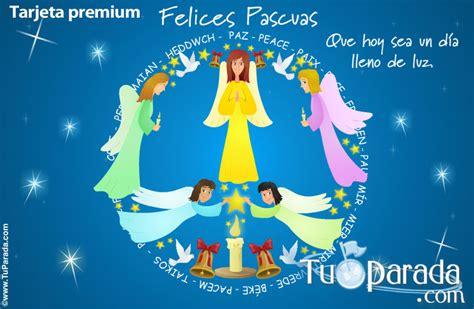 imagenes de felices pascuas para facebook tarjeta de felices pascuas con 225 ngeles pascua tarjetas