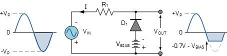 bias diode circuit diode clipping circuits and diode clipper