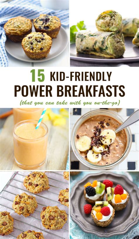 This Is Dedicated To Breakfasts by Kid Friendly Power Breakfasts To Go Healthy Ideas For