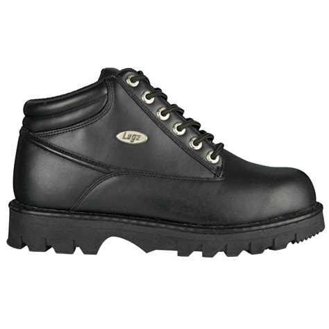 lugz ii mens boot black stylish footwear