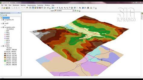 tutorial arcgis geologia turorial arcgis capitulo 13 06 arcscene simbolog 237 a lineal